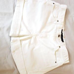 Calvin Klein jean short white size 10